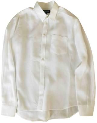 Vilebrequin White Linen Shirts