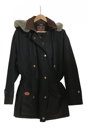 Mulberry Black Polyester Coats