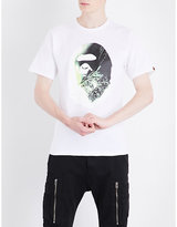 A Bathing Ape X Alien Cotton-jersey T-shirt