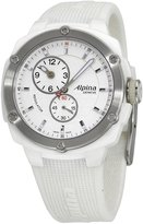 Alpina Women's Avalanche Extreme Silicone Band Steel Case Quartz Analog Watch AL-650LSSS3AEC6