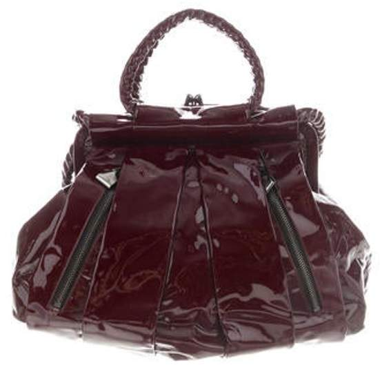 6c13f332079 Patent Leather Frame Bag red Patent Leather Frame Bag