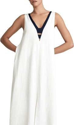 Reiss Valetta Sleeveless Midi Dress