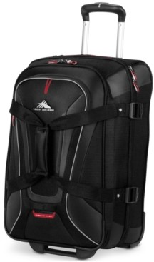 """High Sierra AT7 22"""" Carry-on Wheeled Upright Duffle"""