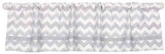 "The Peanut Shell The 53"" x 14"" Chevron Print Window Valance Bedding"