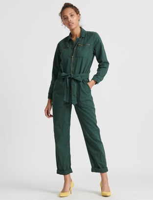 Lucky Brand Tie Front Jumpsuit