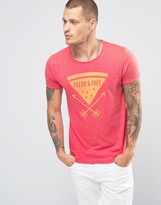 Scotch & Soda Scotch And Soda Printed T-shirt