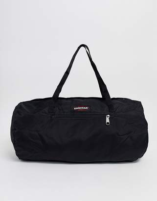 Eastpak foldable holdall in black
