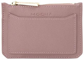 Mocha Classic Mini Coin Wallet - Mauve
