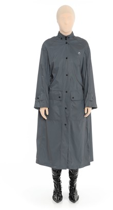 Marine Serre Black Reflect Raincoat