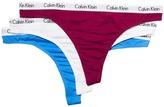 Calvin Klein Underwear Carousel 3-Pack Thong Women's Underwear