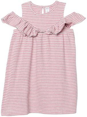 Harper Canyon Ruffle Textured Dress