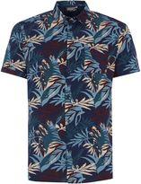 Linea Ali Floral Short Sleeve Shirt