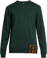 Raf Simons College R cotton-blend sweatshirt