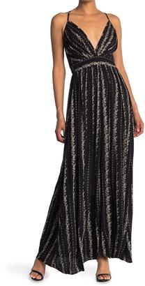 Nostalgia Apparel Empire Waist Sleeveless Maxi Dress