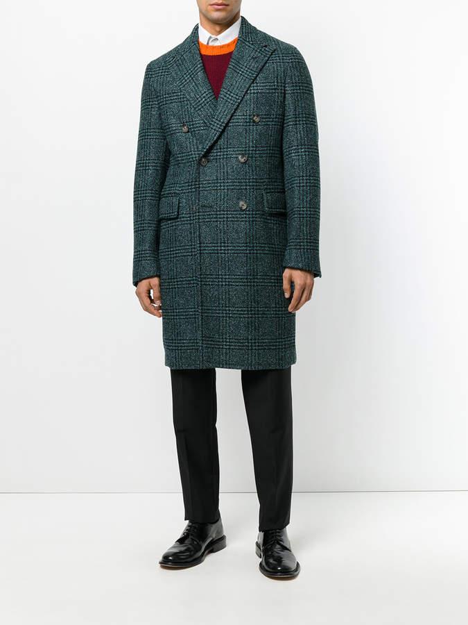 Boglioli double breasted coat