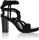 Isabel Marant Women's Miana Ankle-Wrap Sandals-BLACK