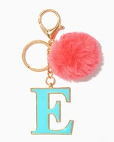 Charming charlie Furry Initial E Keychain