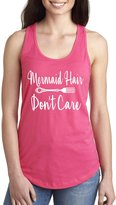 ZeroGravitee Mermaid Hair Don't Care Racerback Tank in