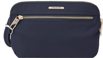 Travelon Anti-Theft Tailored Convertible Clutch Crossbody Bag