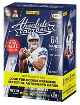 NFL 2017 NFL Football Absolute Trading Cards