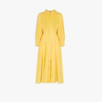 Three Graces Valerie button-up cotton dress
