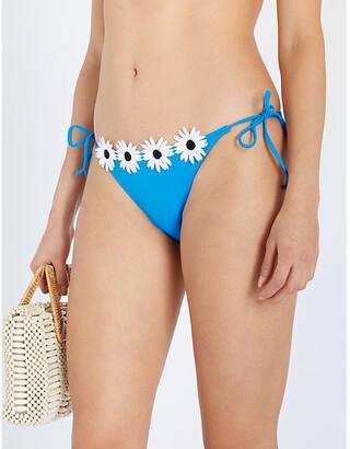 Myla Pollen Street tie-side bikini bottoms