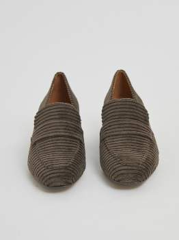 Castaner Brown Moccasin Heel Corduroy. 021511 - 36   brown   Moccasin - Brown/Brown