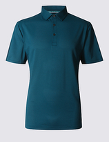 Marks And Spencer Marks And Spencer Tailored Fit Textured Polo Shirt