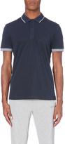 HUGO BOSS Slim-fit jersey polo shirt