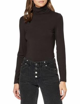 Vero Moda Women's Vmava Lulu Ls Rollneck Blouse Ga Noos Long Sleeve Top