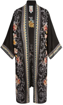 Johnny Was Mayflower Embroidered Kimono