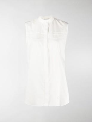 Alyx Sleeveless Band-Collar Shirt