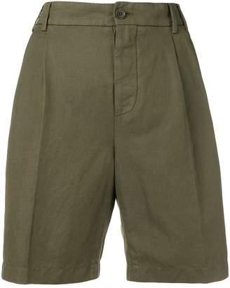 Aspesi high-waisted chino shorts