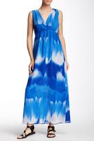 Sweet Pea Sleeveless Printed Maxi Dress
