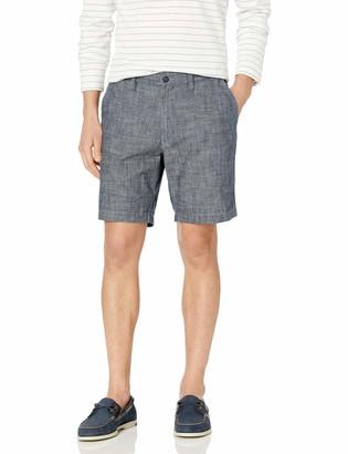 Nautica Men's Classic Fit 100% Cotton Chambray Deck Short