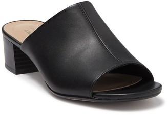 Clarks Elisa Rose Block Heel Sandal