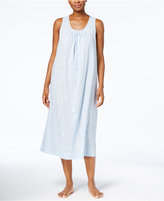 Charter Club Lace-Trimmed Embroidered Nightgown, Created for Macy's