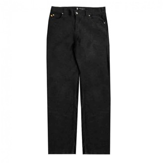 Saint Laurent Anthracite Cotton Jeans
