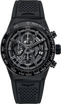 Tag Heuer CAR2A90.FT6071 Carrera titanium chronograph watch