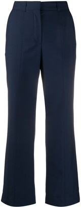 Lanvin Cropped Flared Trousers