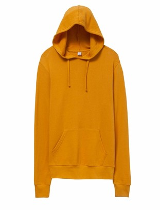 Alternative Men's Challenger Lightweight Washed French Terry Pullover Hoodie