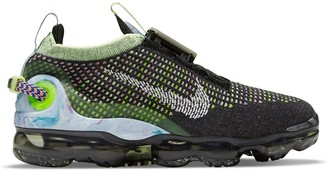 Nike Vapormax 2020 Flyknit sneakers in black/barely volt
