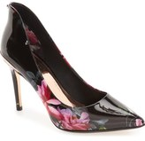 Ted Baker London 'Savei' Citrus Bloom Pointy Toe Pump (Women)