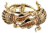 Kenneth Jay Lane Alligator Bracelet