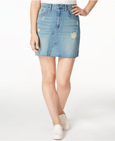 Calvin Klein Jeans Cutoff Denim Skirt