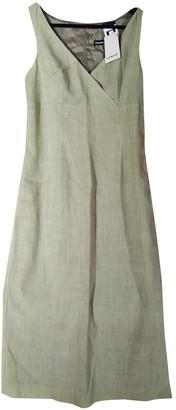 Cacharel Green Viscose Dresses