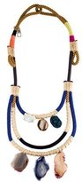 Proenza Schouler Double Rope Agate Necklace