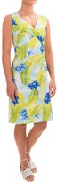 Caribbean Joe Printed V-Neck Dress - Sleeveless (For Women)