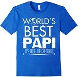 Mens World' best PAPI it's true, We Checked! T shirt