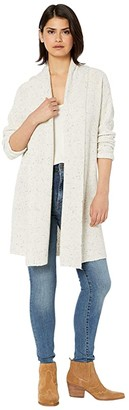 BB Dakota Chill Pill Speckled Yarn Long Cardigan (Oatmeal) Women's Clothing